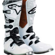 Мотоботы Alpinestars Tech 8 White-Black