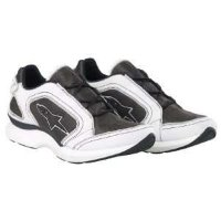 TRACK SHOES WHITE-BLACK