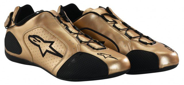 F1 SPORT SHOES GOLD