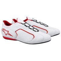 MONTREAL SHOES WHITE RED