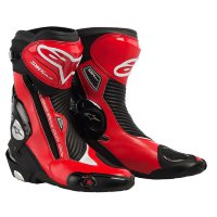 Мотоботы Alpinestars S-Mx Plus Black-Red 46