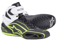 Мотоботы Alpinestars Faster-2 Black White Fluo Yellow