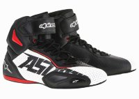 Мотоботы Alpinestars Faster-2 Vented Black White Red