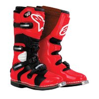 Мотоботы Alpinestars Tech 6 S Black-Red Youth 29