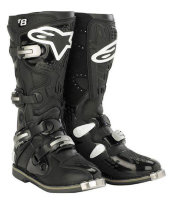Мотоботы Alpinestars Tech 8 Black-White