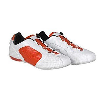 F1 SPORT SHOES WHITE-RED