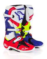 Мотоботы Alpinestars Tech 10  Red Blue