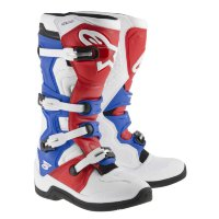 Мотоботы Alpinestars Tech 5 White Red Blue