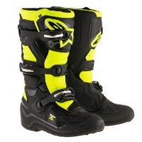 Мотоботы Alpinestars Tech 7S Youth Black Yellow Fluo 38