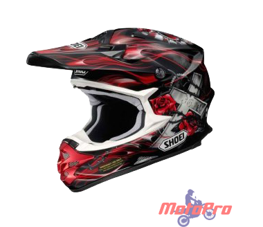 Мотошлем Shoei VFX-W GRANT TC-2 Red Black XS
