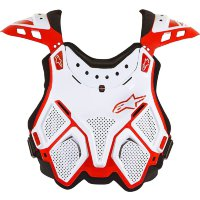 Моточерепаха Alpinestars A-10 MX Chest Protector Red