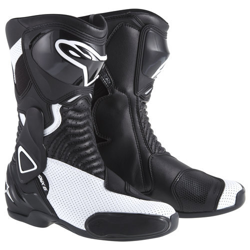 Мотоботы Alpinestars Stella S-MX 6 Black White Vent 37