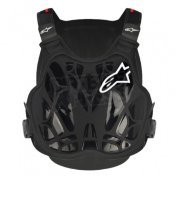 Моточерепаха детская Alpinestars A-8 Light Youth Chest Protector Black Red
