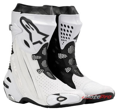 Мотоботы Alpinestars Supertech R White-Black Vented