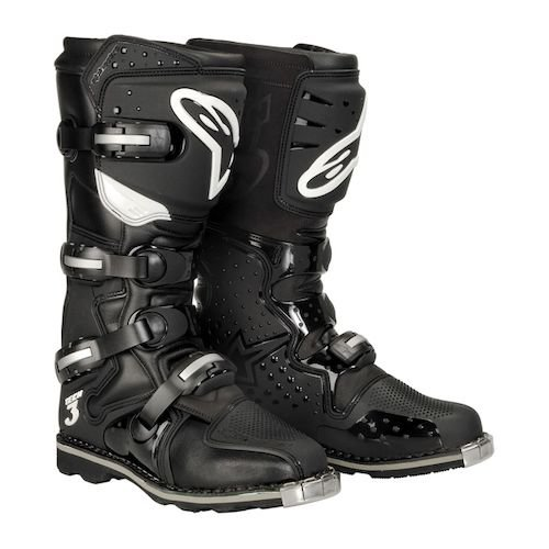 Мотоботы Alpinestars Tech 3 At Treaded S. Black