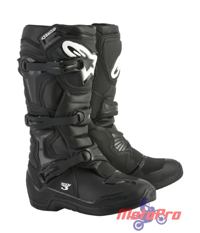 Мотоботы Alpinestars Tech 3 Black (2018)